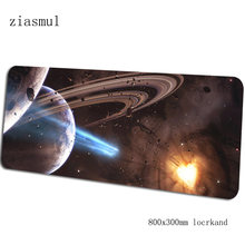Alam Semesta Padmouse 80X30 Cm Mousepad Gaming Permainan XL Besar Mouse Pad Gamer Meja Komputer Cute Mat Notbook Alas Mouse pc(China)
