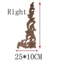 Деревянная аппликация деревянная Декаль деревянные молдинги античные декоративные натуральные розы резиновый деревянный угловой шкаф ст...(Китай)