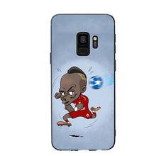 Fútbol Van Dijk Salah melena cubierta de la caja del teléfono para Samsung Galaxy S6 S7 borde S8 más S9 más S10 plus e lite caso suave(China)