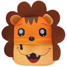 Mochilas de animales 3D para niños, mochila de diseño de marca para niñas, mochila para bebés y niños, para la escuela bolso de neopreno, bolsa de dibujos animados para jardín de infantes(China)