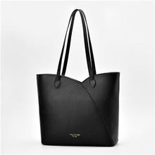 21 clube marca de moda simples contraste cor senhoras totes escritório compras bolsa casual hotsale bolsas femininas ombro(China)