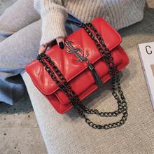 Sac pour femmes 2020 nouvelle mode coréenne mini rivet chaîne messager jaune sauvage petit sac carré sac a main femme de marque luxe(China)