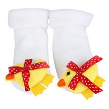 תינוק גרבי קריקטורה יילוד ילדי תינוק בנות בנים אנטי להחליק חם גרב נעל נעלי מגפי פעוטות ילדים רך גרב calcetines M800 #(China)