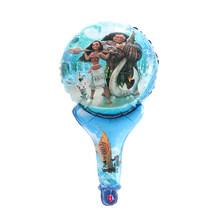 5 Pcs Mini Kartun Balon Unicorn/PRINCESS/Spiderman Handheld Foil Balon Ulang Tahun Pesta Dekorasi Shower Bayi Anak mainan(China)