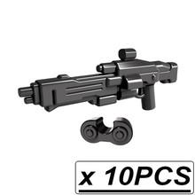 Новый набор MOC Star Halo Science фантастика снайперская винтовка пистолет тактика лук военное оружие часть строительные блоки игрушки(Китай)