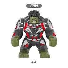 Grande Thanos Grande Anti Veneno Carnificina Homem De Ferro Homem-Aranha Hulk Buster Whiplash Batman Building Block Toy Figuras Para crianças(China)
