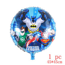 30pc Batman Birthday Party Supplies มีดช้อนส้อมบนโต๊ะอาหาร(China)
