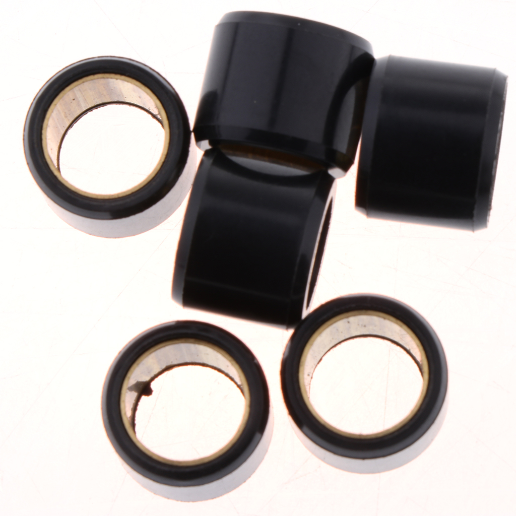 6pcs 12mm Variator Roller Weight 4g Variator Kit for Yamha Engine Scooter