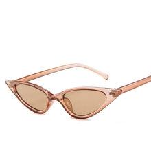 2020 новые сексуальные солнцезащитные очки кошачий глаз женские маленькие треугольные Винтажные Солнцезащитные очки мужские ретро очки «ко...(Китай)