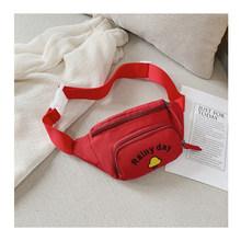Enfants taille drôle-Pack rein ceinture-sac en plein air banane étanche bum sac pochette sac banane saszetka na biodra(China)
