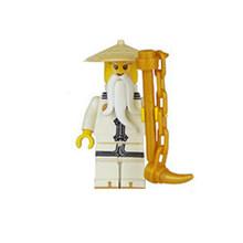 Mini ninja com arma figuras de ação blocos de construção crianças brinquedo presente compatível legoingly ninjagoed brinquedos educativos para crianças(China)