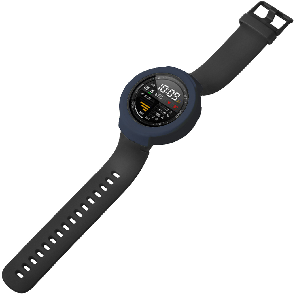 Watch Case Silicone Replacement Bumper Protective Case for AMAZFIT 3/Verge