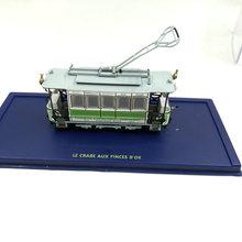 Atlas 1: 87 skala stary pociąg tramwaj modele samochodów Ho model autobusu kolekcje Diecast tramwaj prezent(China)