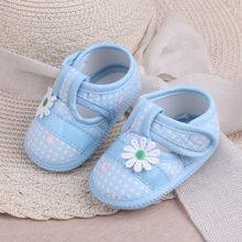 Baby Schoenen Baby Winter Eerste Wandelaars Schoenen Leuke Baby Meisjes FloralSandals Boog Peuter Baby Boy Soft Sole Prewalker Schoenen(China)