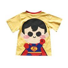 Tonytaobaby Dei Bambini In Puro Cotone a maniche corte T-Shirt Quattro Colori Cute Cartoon Eroe Bello Il Tempo Libero T-Shirt(China)