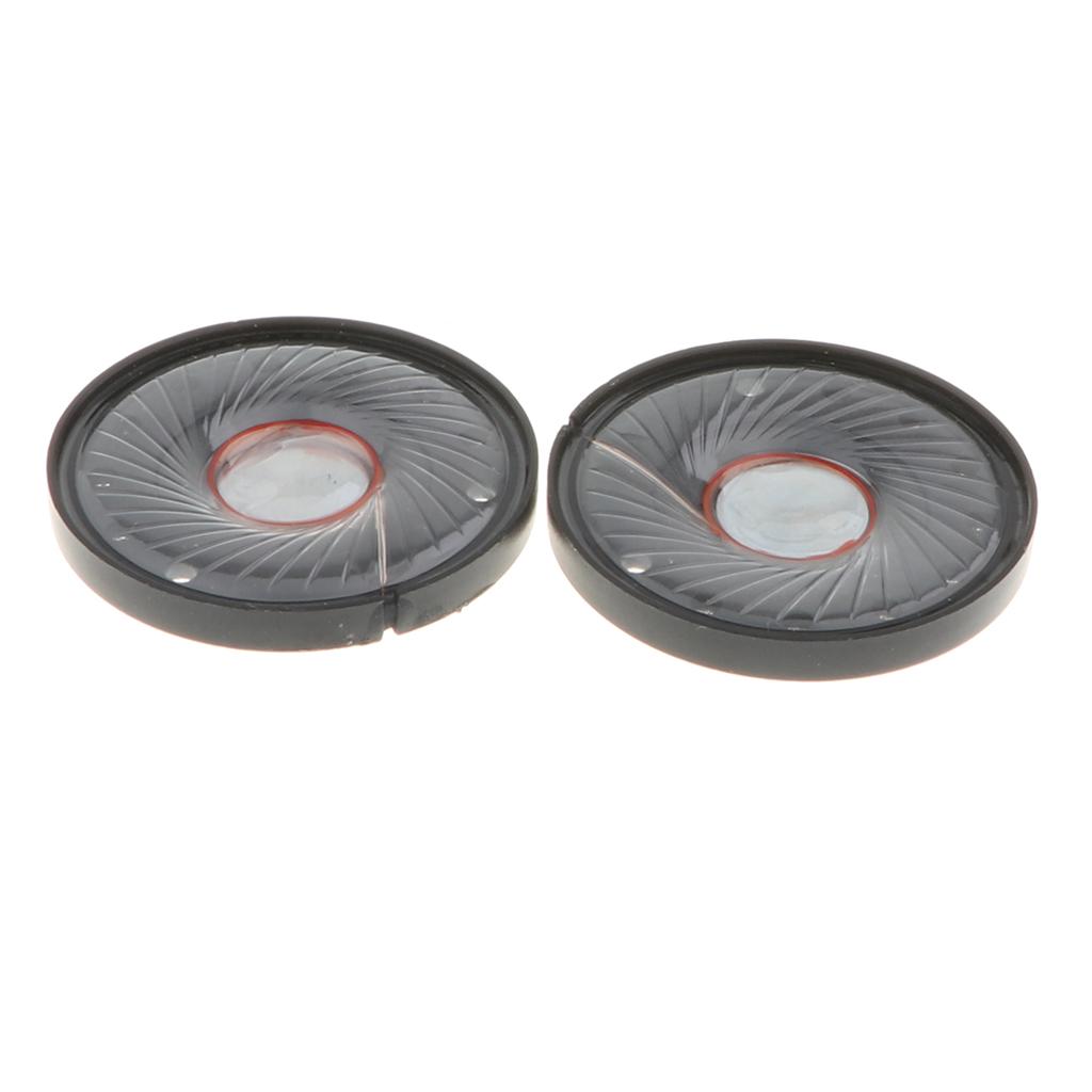 10 pcs 8Ω Headphone Drive Units DIY Headphone Speakers for 40mm Earphones
