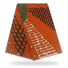 Новый 100% хлопок оригинальный Настоящий Воск для печати Анкара ткань 2020 африканская ткань для свадебного платья материал африканская ткань ...(China)