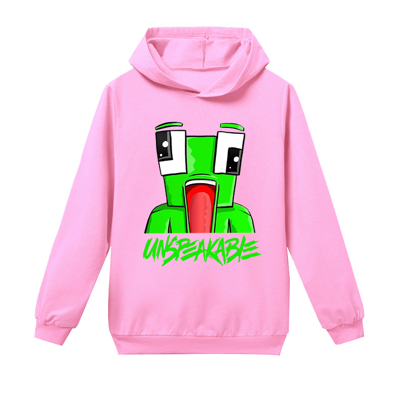UK Boys Girls Unspeakable Tracksuit Youtuber Gamer Hoodie Pants Long Outfits