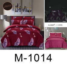 Alanna queen bedding set Luminous comforter euro pastel sheets bed sheet king size double bedspread cover set(China)