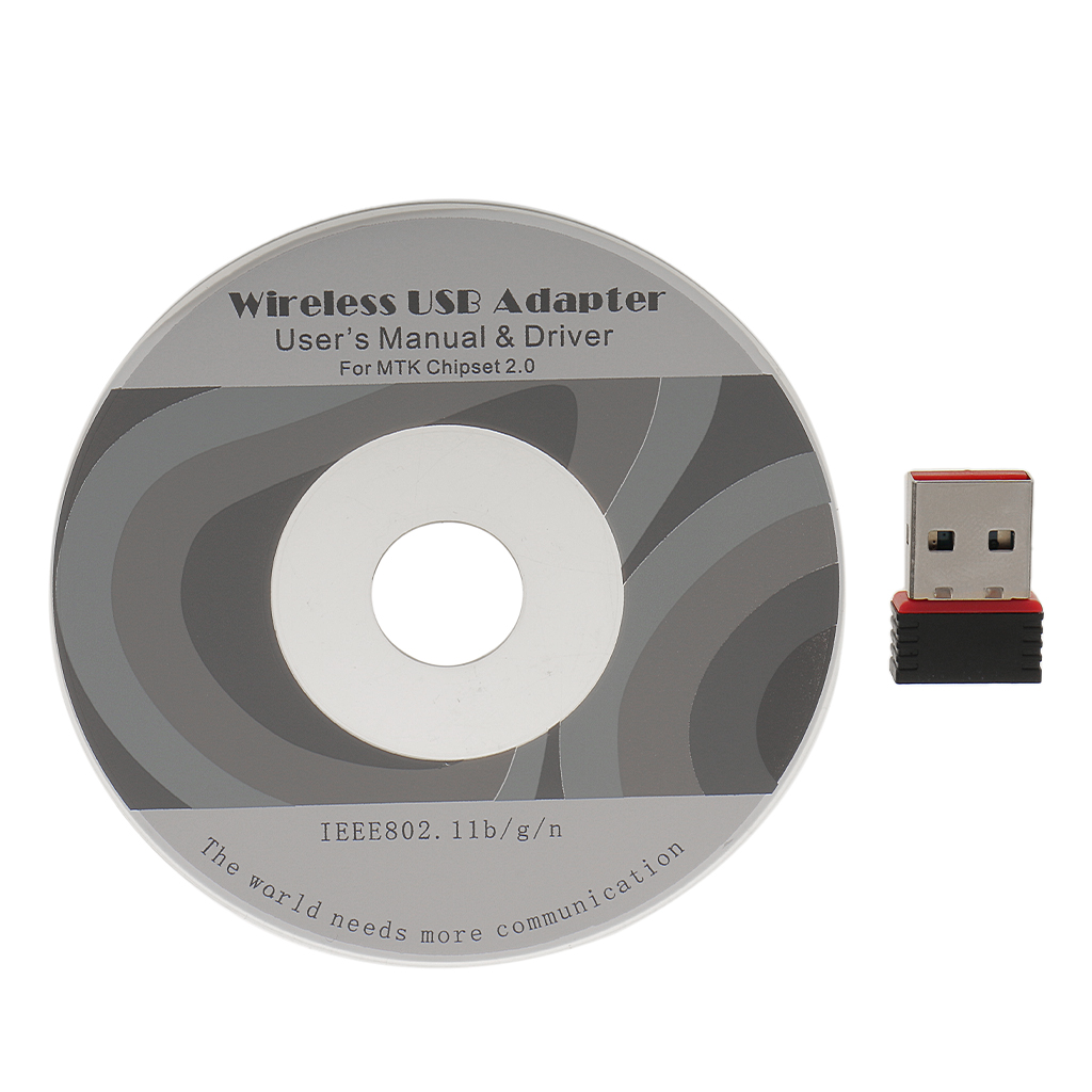Mini USB 2.0 WiFi Wireless Adapter Dongle 150Mbps Long Range for Macbook Support IEEE802.11n standard Faster transmission