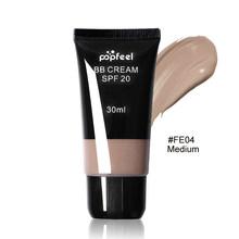 POPFEEL longue durée BB crème pleine couvrance correcteur 4 couleurs Palette maquillage visage liquide fond de teint crème foudatine visage 30ml(China)