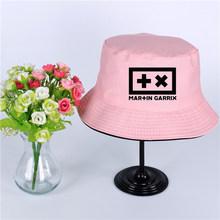Martin Garrix Logosu Yaz Şapka Kadın Erkek Panama Kova Şapka Martin Garrix Logo Tasarım Düz Güneşlik Balıkçılık Balıkçı Şapka(China)