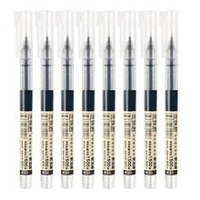 8 цветов чернильные прямые жидкие гелевые ручки набор красочных жидких роликовых ручек 0,5 мм ручки для роликовых шариков художественный шри...(China)
