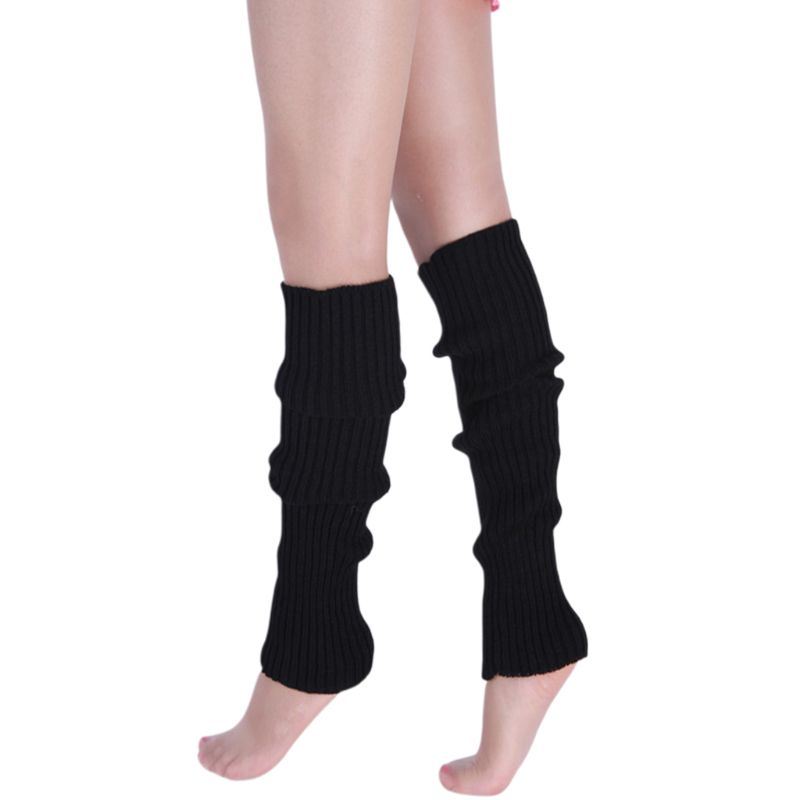 New Pair of multi-coloured ballet dance fitness soft wool mix leg warmers