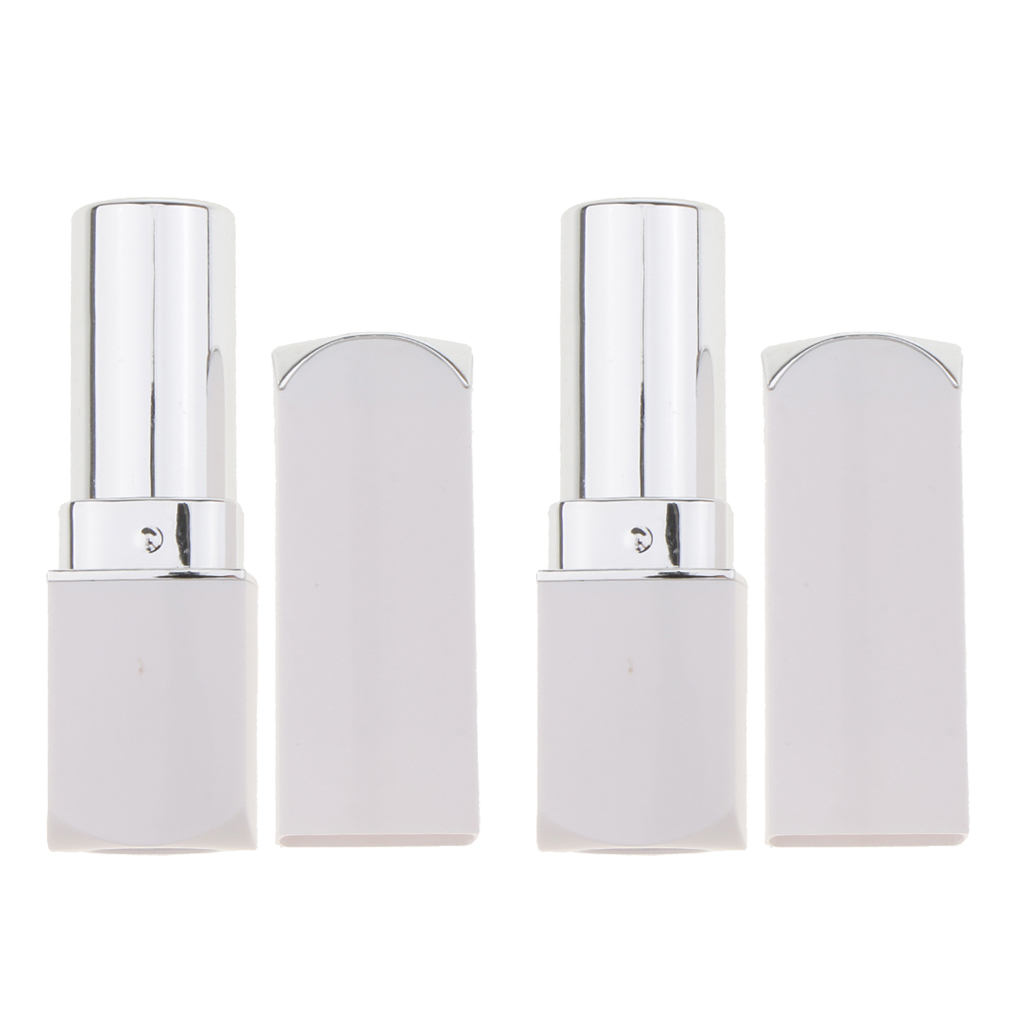 Empty Lipstick Tube Lip Balm Vial Container DIY Cosmetic Container Dia:12.1mm Makeup Tool