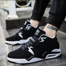 FIUGGI Erkekler rahat ayakkabılar Koşu Hava Ayakkabıları Erkekler Yastık Rahat Nefes Dantel-up Açık Istikrar Koşu Sneaker Boyutu 38- 4(China)