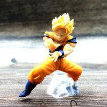 NOVO Anime Dragon Ball Z Goku Fighers Manga Príncipe Vegeta Trunks Super Saiyan Goku Gohan Action Figure Modelo Coleção Toy presente(China)