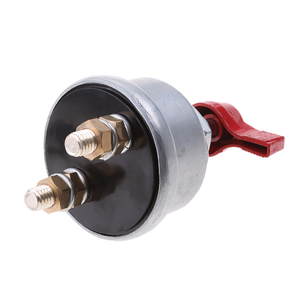 Battery Disconnect On Off Kill Switch 2-Post Spst For Car RV Camper 12-24V