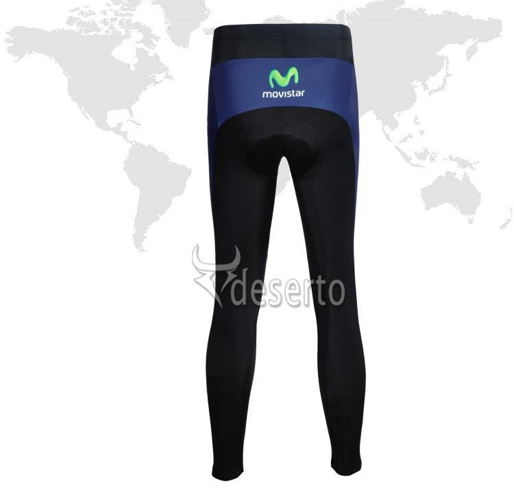 Новые функции! Movistar team Велоспорт одежда/Велоспорт износ / Велоспорт Джерси длинные масти - movistar-4a