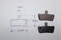 Велосипедные тормоза NO , SRAM, 7 & 9 xo SRAM R/RS/RSC SH859 TUV AOV