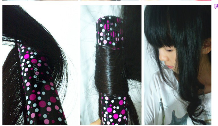 Утюжок для выпрямления волос LN66A