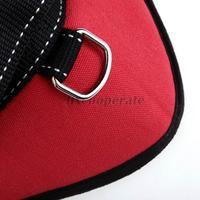 удобные среднего большого размера собака pet регулируемые мягкие груди ремень красный m