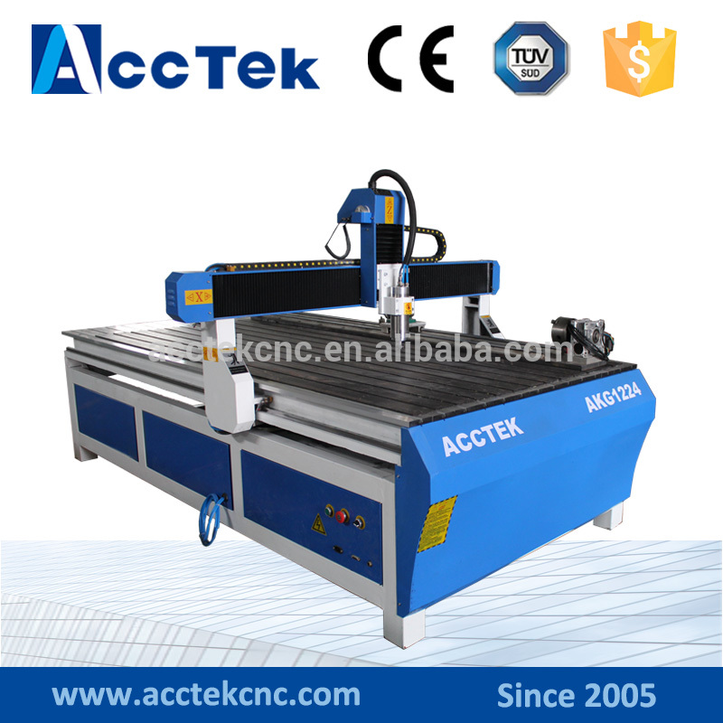 woodworking cnc router 1224 advertising cnc router T-slot cnc router vacuum table cnc router hot sale best price(China (Mainland))