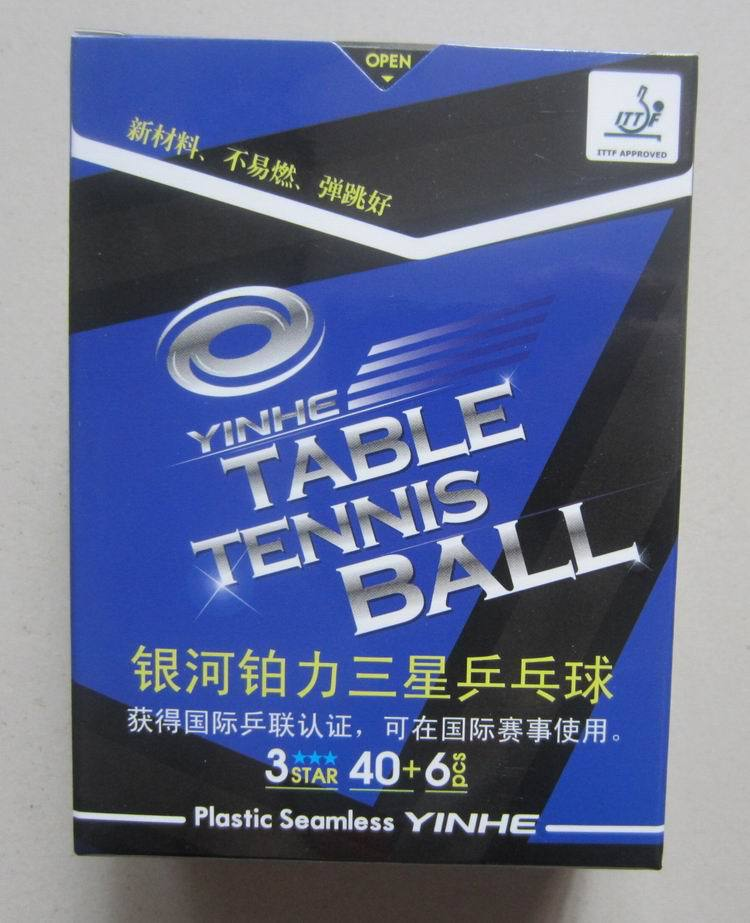 Гаджет  Original Galaxy  yinhe new materials 40+ poly table tennis ball table tennis game ball 3 stars None Спорт и развлечения