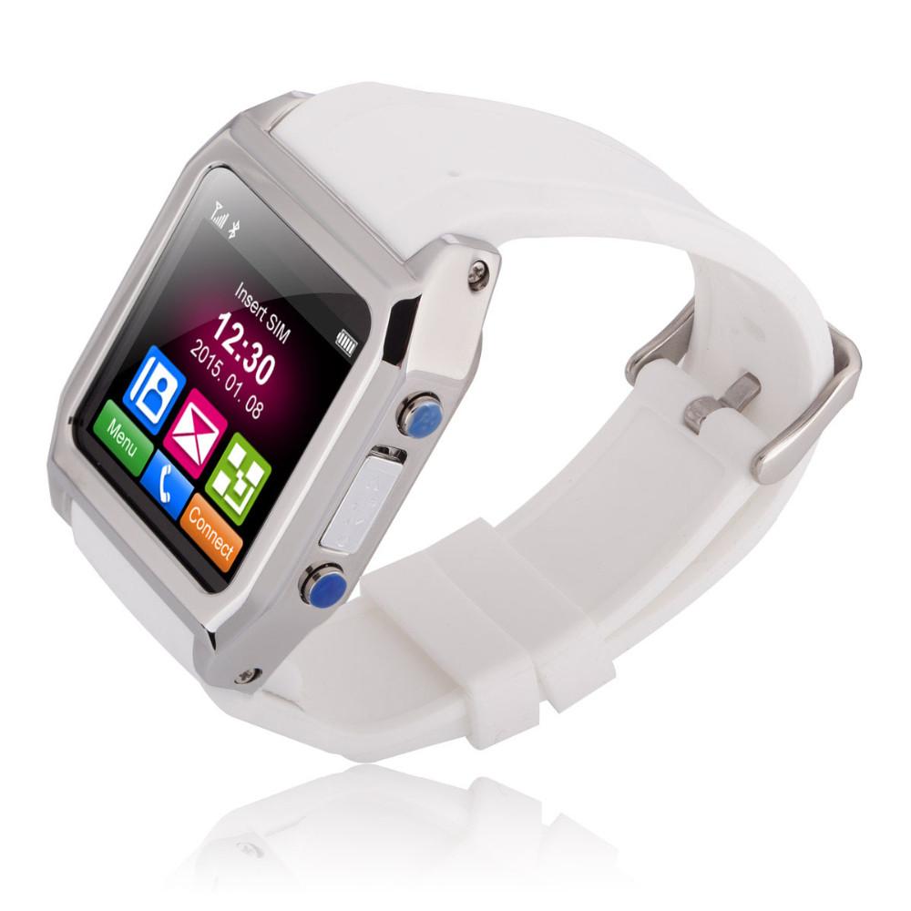 """ถูก TW530D 1.54 """"ป้องกันการสูญหายGPRS Androidมาร์ทโฟนโทรศัพท์นาฬิกาบลูทูธนาฬิกาซิงค์สนับสนุนซิมFM"""