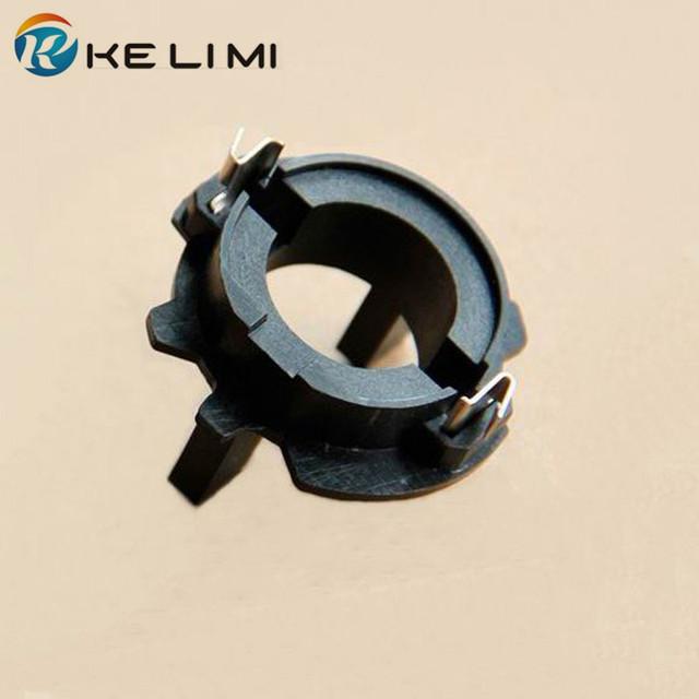 2x H7 HID Xenon Headlight Lamps Conversion adaptors bracket base For volkswagen vw jetta golf H7 adapter holders