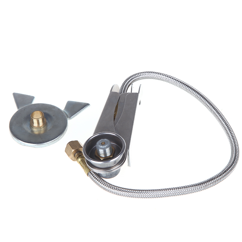 Free Shipping Outdoor Stove Burner Furnace Converter Connector Gas Tank Adapter Pouch Camping Cooking Equipment