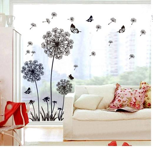... papier peint pegatinas femmes accueil chambre maison DIY décor de