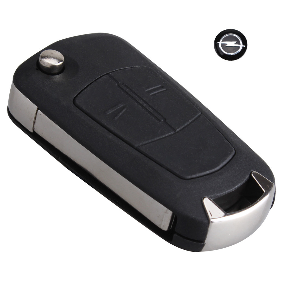 2 Buttons Flip Remote Folding Car Key Fob Case for Vauxhall Opel Corsa Astra Vectra Signum Uncut Car Key Shell Car Cover No Chip(China (Mainland))