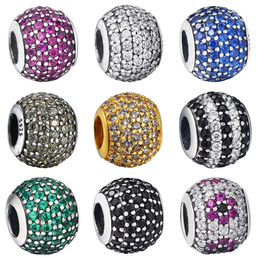 Beads fit pandora style bracelet necklace pendant original jewelry
