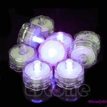 1pc Led Submersible Waterproof Wedding Decoration Party Flameless Tea Light(China)