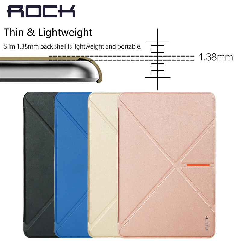 Newest Stylish Rock Sleep Wake Up Case PU Leather Cases Kickstand Holder For iPad Mini 4 Protective Case Pouch Bag Wallet(China (Mainland))