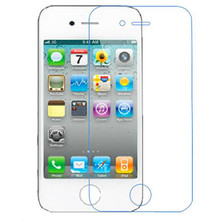 Ultra Thin 0.26mm 2.5D Explosion-proof Anti-Scratch Tempered Glass Screen Protector Film For Apple iPhone 4/4S With Package
