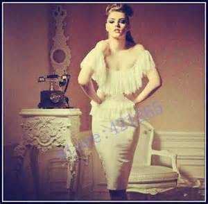 yousef aljasmi Myriam fares Women dress Celebrity Custom knee-length Sleeveless Sheath Strapless  -  Modern-Zone1995 store