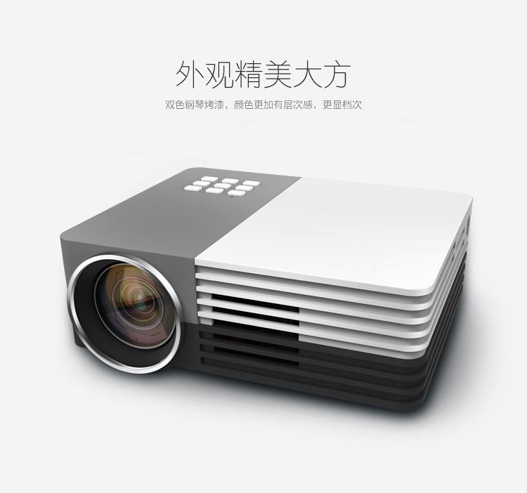 GM50 Mini Portable LED Projector Video 3d Projector With Remote Controller Support AV/USB/SD/VGA HDMI(China (Mainland))