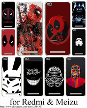 Star Wars Stormtroop Hard Transparent Case Cover Redmi 2 2A 3 Pro 3S Note & Meizu M2 mini M3 - ShenZhen Caixi Co.,Ltd Store store